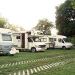Guests with mobile homes, Camping Haller