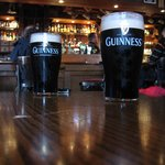  an excellent pint in the Clontarf Court bar