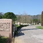Florence American Cemetery near hotel.
