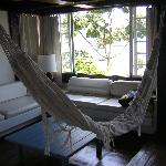 Sitting area in our room