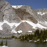  Medicine Bow Peak Lake