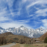  View of Mt.Whitney on road to Alhambra Hills.