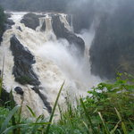 Barron Falls on Scenic rail Down Under Tours Kuranda Tour