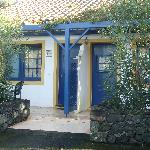 One of the little houses at Quinta de Santana