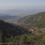 View of Kangra Valley from terrace