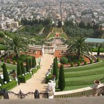 Baha'i Gardens and Golden Dome