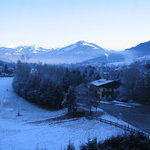 View of Kaprun from bedroom 2
