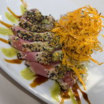  Wasabi &amp; Sesame Encrusted Tuna