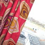 Slighly retro psychedelic curtains