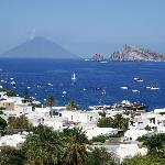  Stunning view of Stromboli from our terrace