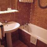 Bathroom in Hotel d'Avallon Vauban