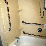 Our handicap accessible tub at the Courtyard