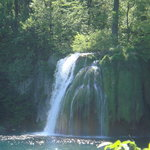 Stunning waterfalls within Plitvice Natl Park