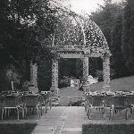 sandstone gazebo for outdoor ceremonies