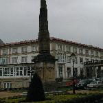  A corner view of Ferrol parador