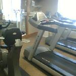 Fitness room/workout center