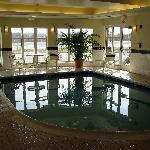 Swimming pool at the Hilton Garden Inn