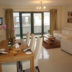 Marine Glandore Luxury Self Catering Living Area
