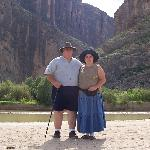  Us at the Santa Elena canyon