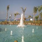 fountains near beach
