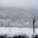 Snow after Easter at Grafoglia