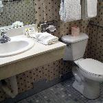  Our handicap accessible bathroom at Comfort Inn Bellefontaine