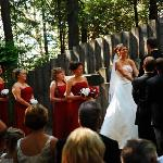  Married in the Outdoor Chapel