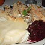 phyllo baked brie $12