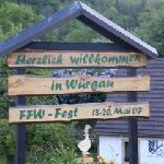 Wurgau, a very welcoming town...