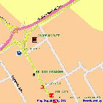  Map of Airport Hotel -Ikeja, Lagos produced from MapNTL.com