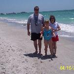 on the beach @ lido key