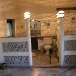 our bathroom at Nalagarh Fort