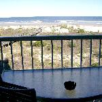 View of Ocean from 2-bdrm 3rd floor