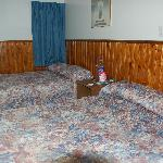 two doublebed room