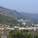 View from the hotel in Cochem