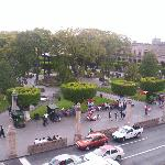  vista a la plaza de armas desde la habitacion