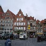 Hotel facing Grand Place, Tournai