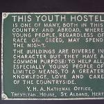 Historic sign, Jordans YHA
