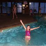  indoor pool, kids loved it