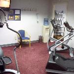 The hotel's internal fitness room is lame; go to the big gym nearby