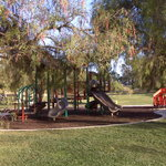 Kids playground on the Norht side of the park