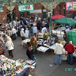 The Tynemouth antique market is held every Saturday.