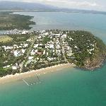  beautiful port douglas in a helicopter