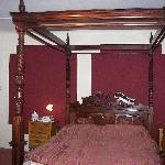 Cathedral Room bed.