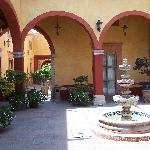  Another courtyard at the hotel