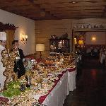 New Years Eve buffet