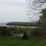View of Ellison Bay, just south of Parkside Inn