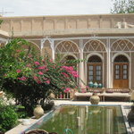 Garden of Kohan Kashane, teahouse and hotel in traditional Persian house.