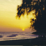 Rockley Beach at Sunset
