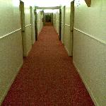  hallway to room